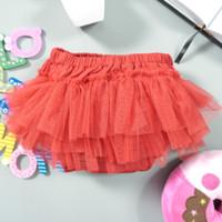 baju bayi rok tutu lucu warna warni bawahan bayi - Merah