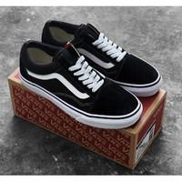 Sepatu Vans OldSkool Blank white