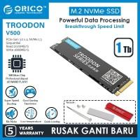 ORICO 1TB SSD M.2 NVMe 2280 TROODON SERIES - V500-1TB