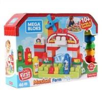Fisher Price Mega Block Blocks Blok Bloks Musical Farm
