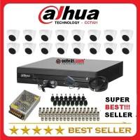 Distributori CCTV DAHUA Paket 16 Camera FULL HD 2MEGAPIXEL DVR 16Ch