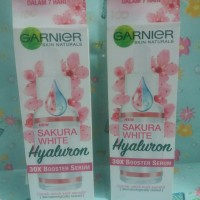 50x booster serum garnier sakura white hyaewon 30ml
