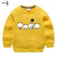 Sweater Anak Perempuan bahan fleece 2-9 Tahun / HAY PANDA
