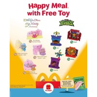Twin Stars My Melody Ninja Happy Meal McD McDonald McDonalds Mc Donald