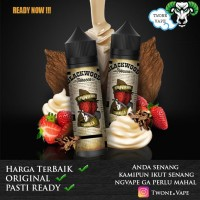 Liquid Blackwood Tobacco Strawberry Vanilla Tobacco Authentic By RCKS