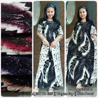 Daster/Longdress Kelelawar Batik Lowo Cap Motif Bunga Remekan