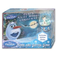 Disney Frozen Book & Glitter Globe (Includes Glitter Globe)