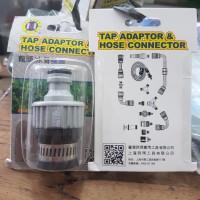 Tap adaptor & hose connector C-mart sambungan keran kran model klem