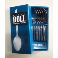 sendok /garpu makan super doll