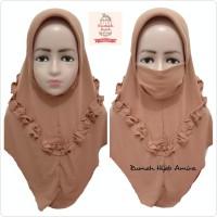 Jilbab Masker Hijab Anak Niqob Cadar Kalung