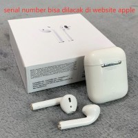 Airpods2 earphone wireless Original Quality 1:1 Apple Iphone - Putih