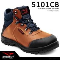 Sepatu Safety Shoes Cheetah 5101CB Coklat Safety Shoes Cheetah 5101