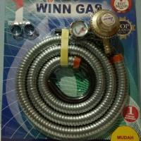 Selang paket Winn Gas + Regulator W88M standard SNI