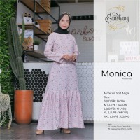 [XXL Ready] Gamis Soft Angel Monica 01D