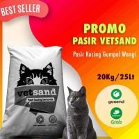 Pasir Kucing Vetsand 20kg Pasir Wangi Gumpal - Khusus Grab & Gosend