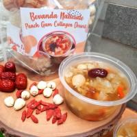 Paket BESAR 440gr Peach Gum Dessert EXTRA Snow bird nest - 11 bahan