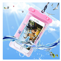 Case Cover Handphone Waterproof Carakter Lucu / Tas Hp Anti Air Murah