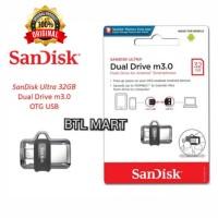 Flashdisk Sandisk OTG 32GB. Ultra Dual USB Drive. USB 3.0