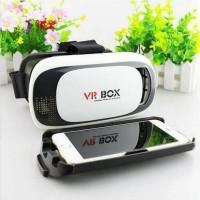 Kacamata VR Box 3D 3 Dimensi Versi 2 Virtual