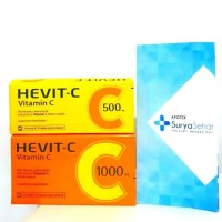 Hevit-C 500mg 1 strip isi 10 tablet - Hevit C 1000mg 1 strip isi 10tab