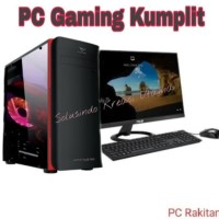 PC RAKITAN GAMING Core i5-2400 / 8GB D3/ HDD 1TB / GTX 1030 2GB DDR5