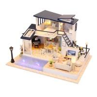 DIY MINIATURE DOLL HOUSE WOODEN / MINIATUR RUMAH BONEKA MERMAID TRIBE
