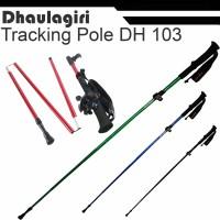 Folding Trekking Pole Dhaulagiri 103 not tnf/jws