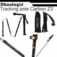 Trekking Pole Carbon DHAULAGIRI FOLDABLE CARBON POLE Z3