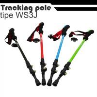 Tongkat Gunung Hiking Trekking Tracking Pole Import WS3J