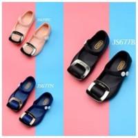 lull SPT21 - jelly shoes kotak sepatu anak cewek perempuan flat shoes