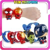 ✧YUKSHOPING✧ JT017 Jam Tangan Anak Robot Super Hero Karakter