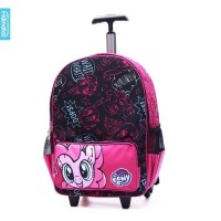 Tas Troli My Little Pony Colorful Trolley 16 inch Adinata Original