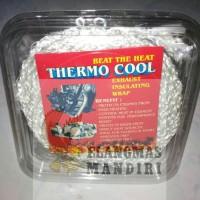 Distributor Exhaust Wrap Thermocool pembungkus knalpot dan peningkat