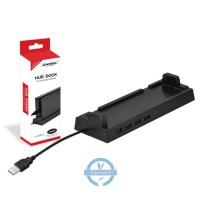 Dock Stand Holder Dengan 4 Port Usb 2.0 Untuk Konsol Nintendo Switch