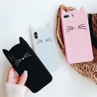 Cute 3D Cartoon Cat Case for Samsung Galaxy A70 A50 A30 A20 A10 A9