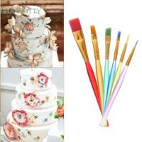 ☃CHA☃Hot 6pcs DIY Tool Pen Cake Icing Decorating Painting