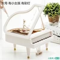 Mainan Bayi & Anak--Piano Music Box Octopus creative mobile spin