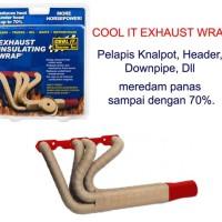 BEST QUALITY Exhaust Wrap Pembungkus Peredam Panas Knalpot Cool It T