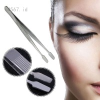 Pinset Bulu Mata Alis uban Jenggot Komedo Tweezer Extention Eyelash