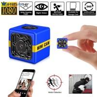 Wfu Kamera Pengintai Bentuk Kubus Mini Portable dengan Night Vision