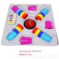 Classic Card Games Speed Cups Stacking Game Cards Family Kids Board