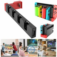 For Nintendo Switch Joy-Con Pro 4 In 1 Controller Charging Dock