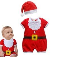 Dress Kostum Santa Claus Natal untuk Bayi / Anak Laki-laki /