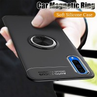 Luxury Car Magnetic Ring Case On The For Samsung Galaxy A10 A20 A30