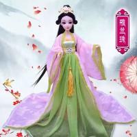 Set Kostum Boneka Barbie Princess Untuk Hadiah Ulang Tahun Anak