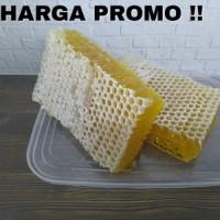 NEW paket hemat 1kg madu sarang melifera premium honeycomb raw honey