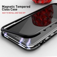 360 Magnetic Adsorption Case For iPhone 7 6 6s s 8 Plus Protect