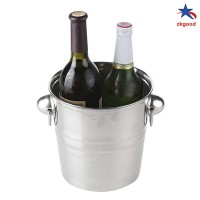 New Stainless Steel Ices Bucket Cool Durable for Champagne Wine