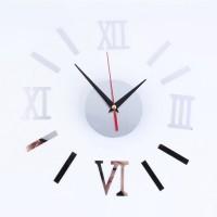 EPH Modern DIY Interior Roman Wall Clock Wall Clock 3D Sticker Home