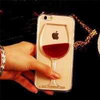 3D Quicksand wine glass Phone Cover Case for samsung galaxy a50 a70